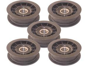 Murray 5 Pack 690409MA Idler Pulley 2-3/4-Inch Diameter for Lawn Mowers Replaces MU690409MA and 690409