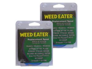 "Weed Eater (2 Pack) 0.080"" String Trimmer Spool for XT600, XT700, PL500, PPB200, PPB300, SST25 # 952711551-2pk"