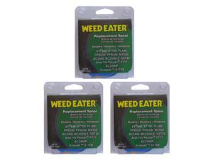 "Weed Eater (3 Pack) 0.080"" String Trimmer Spool for XT600, XT700, PL500, PPB200, PPB300, SST25 # 952711551-3pk"