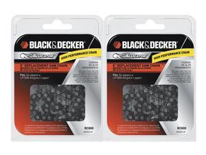 "Black & Decker LP1000 / NLP1800 Saw (2 Pack) Replacement 6"" Chain # RC600-2pk"