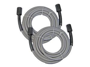 Homelite Pressure Washer (2 Pack) Replacement 25ft 300 PSI Hose # 308835006-2pk