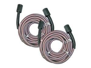 Homelite Pressure Washer 2 Pack 25ft Flex Poly M2 Hose # 308835066-2PK