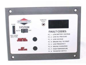 Briggs & Stratton 311353Gs Control Panel Assembly For Home Generator Systems # 311353GS