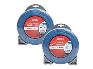 Oregon 20-104 (2 Pack) Platinum Gatorline 1/2lb String Trimmer Line 0.095 Gauge # 20-104-2pk