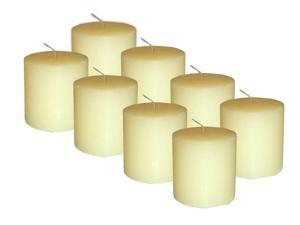 Bite Shield Mosquito MM2PCG Repelling Geraniol Pillar Candles 8-Pack