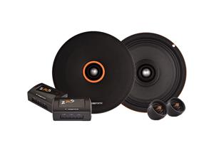 "Cadence Acoustics ZRS Series ZRS6KM, 6.5"" 150 Watt Peak Power 2-Way High SPL Car Midrange Component Kit"