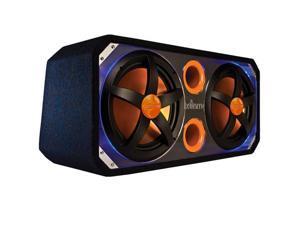 "Cadence Acoustics Xenith Series XBP122, Dual 12"" 600 Watt Passive Subwoofer Enclosure"