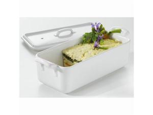 Revol Belle Cuisine Rectangular Terrine With Lid 1L - White