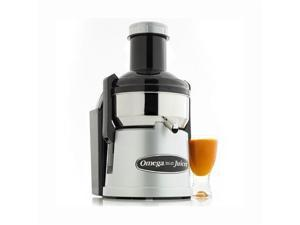 Omega Big Mouth Pulp-Ejection Juicer - Stainless Steel