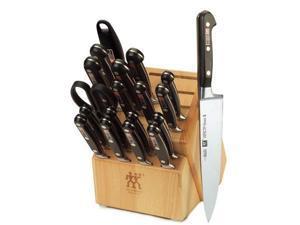 """德國 Zwilling 雙人牌  Professional """"S"""" - 20 Pc Knife Block Set"""