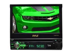 """PYLE PLBT72G 7"""" 1-Din Motorized Touch DVD/CD/USB/Aux-In Player w/ Bluetooth & GPS"""