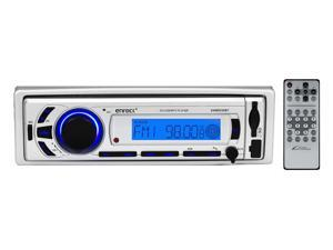 New Enrock EKMR256BT In-Dash Marine Bluetooth Receiver Multimedia System with USB/SD and iPod/MP3 Compatibility