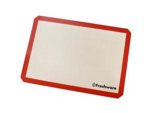 Freshware BM-103 19.5 by 13.6-Inch Silicone Non-Stick Baking Mat with Cut Corner, Big Size