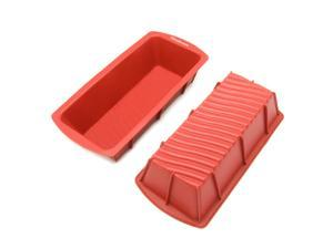 Freshware CB-103M 9-inch Medium Silicone Mold/Loaf Pan for Soap and Bread - 1 PC