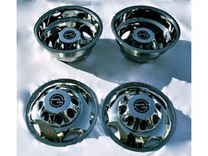 "17"" Stainless Steel Dually Wheel Simulator Set for 2011~Current GM/Chevy 3500HD"