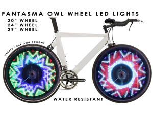 Fantasma OWL BK-7082 Bicycle On-Wheel LED Imaging System  (700c~up)