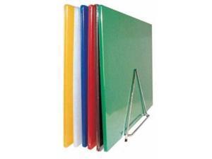 "Winco CBST-1218 12"""" x 18"""" Plastic Cutting Board"
