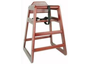 Thunder Group WDTHHC020 Mahogany High Chair