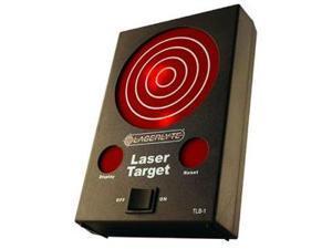 Laserlyte Laser Trainer Target, with Laser-Activated LED Lights TLB-1