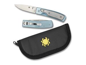 Spyderco Centofante Memory Plainedge Knife C155TIP