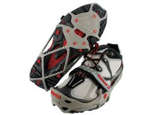 Yaktrax Traction Cleats Run Grey Red X-Large 08164