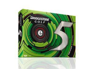 Bridgestone 2013 e5 Golf Balls (Pack of 12) - White - New for 2013