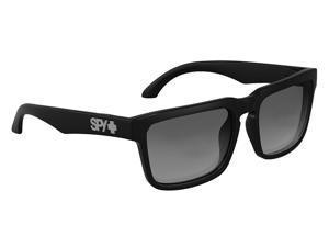 Spy Optic Helm Sunglasses Black Frame Grey Polarized Lens 673015038135