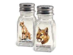 American Expedition Mountain Lion Salt and Pepper Shakers SALT-118