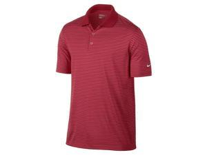 Nike Golf Dri-Fit Victory Stripe Polo - Red/White Medium 585748-657