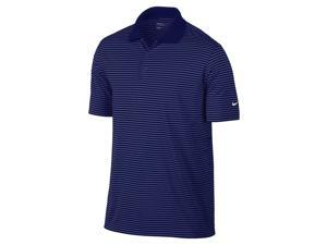 Nike Golf Dri-Fit Victory Stripe Polo - Navy/White XL 585748-419