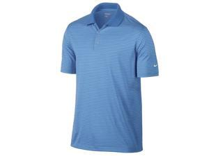 Nike Golf Dri-Fit Victory Stripe Polo - Blue/White XXL 585748-412
