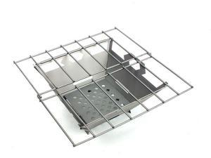Vargo Fire Box Grill Stainless Steel T-436