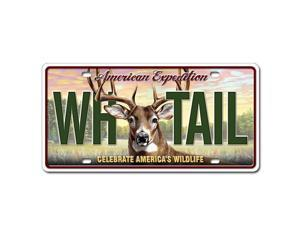 American Expedition Whitetail Deer License Plate LCNS-102