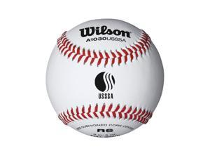Wilson USSSA Raised Seam Baseball 12 Pack WTA1030BUSSSA