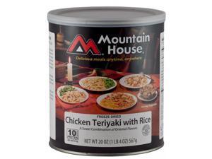Mountain House Chicken Teriyaki W/Rice Can 30124