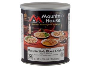 Mountain House Mex Chicken & Rice Can 30144