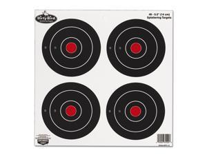 """Birchwood Casey Dirty Bird Target, Bullseye, 6"""", 48 Targets 35504"""
