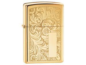 "Zippo ""Venetian"" Brass Lighter"