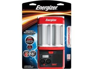 Energizer NOAA Emergency Weather Station and Alert Radio with Lantern WRWS81BP
