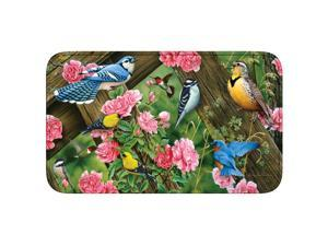 River's Edge Songbirds Memory Foam Mat 31.5in x 20in 1848
