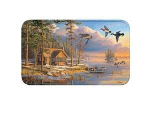 River's Edge Cabin/Ducks Memory Foam Mat 31.5in x 20in 1847