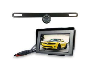 Top Dawg Wireless License Plate Backup WideAngle HD Cam MS435LPWA