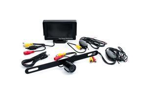 Top Dawg Commercial Heavy Duty Wireless Rear View Camera MS-901D