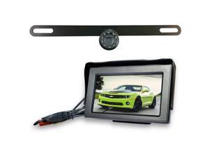 Top Dawg Wired License Plate Backup WideAngle HD Cam MS356LP
