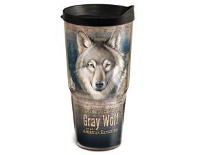 American Expedition 24oz 2-Tier Tumbler Gray Wolf TUMB 106
