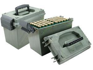 MTM 100 Round Shotshell Dry Box 12Ga. Camo SD-100-12-09