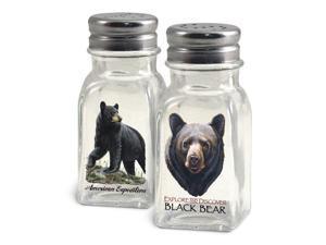 American Expedition Black Bear Salt and Pepper Shakers SALT-101