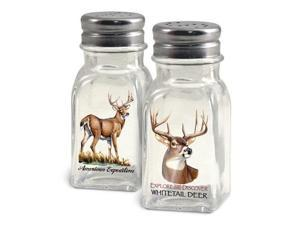 American Expedition Whitetail Deer Salt and Pepper Shakers SALT-102