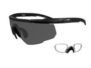 Wiley X Sabre Advanced Sunglasses Pale Yellow/Matte Black 300