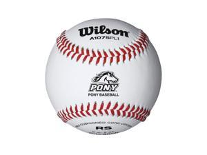 Wilson Pony League Raised Seam Baseball 12 Pack WTA1075BPL1